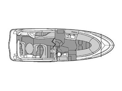 Jacht maxum 2700 rzut