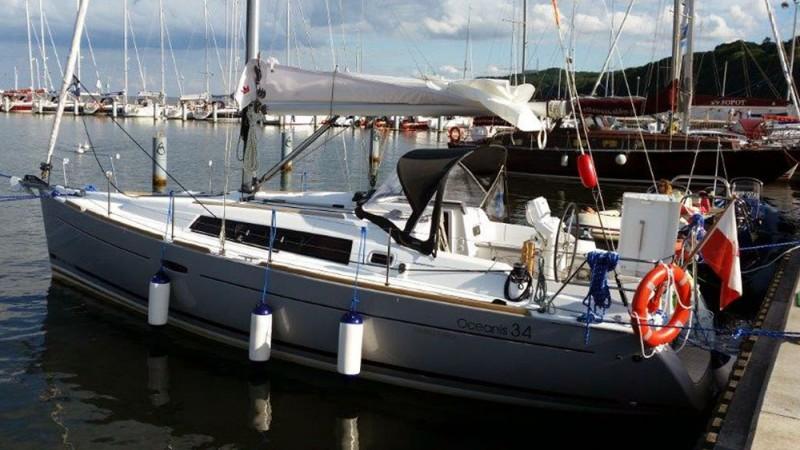 Beneteau Oceanis 34 Burta1