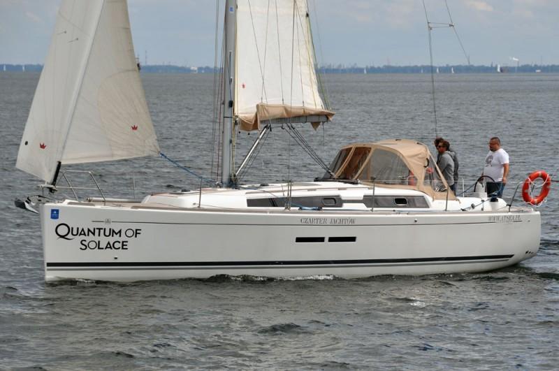 Dufour 375 Grand Large na wodzie 3