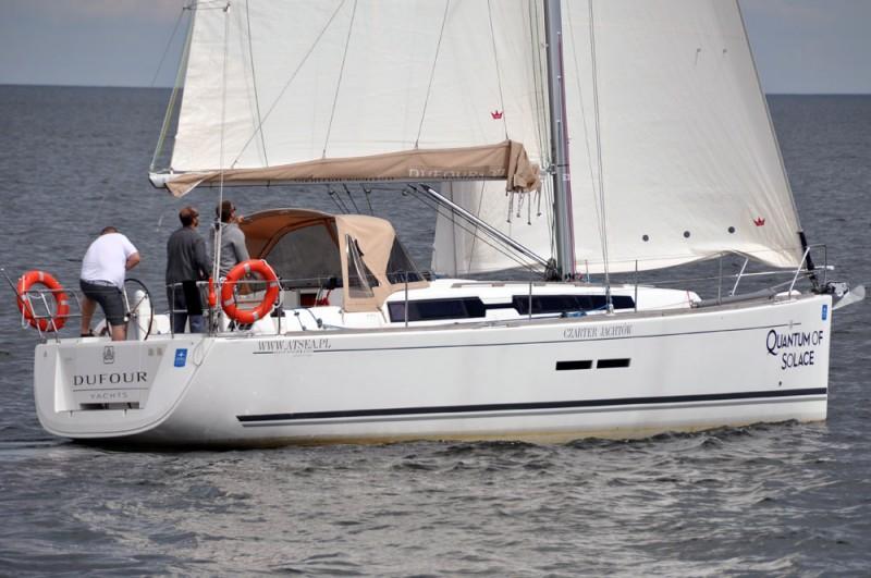Dufour 375 Grand Large na wodzie 4