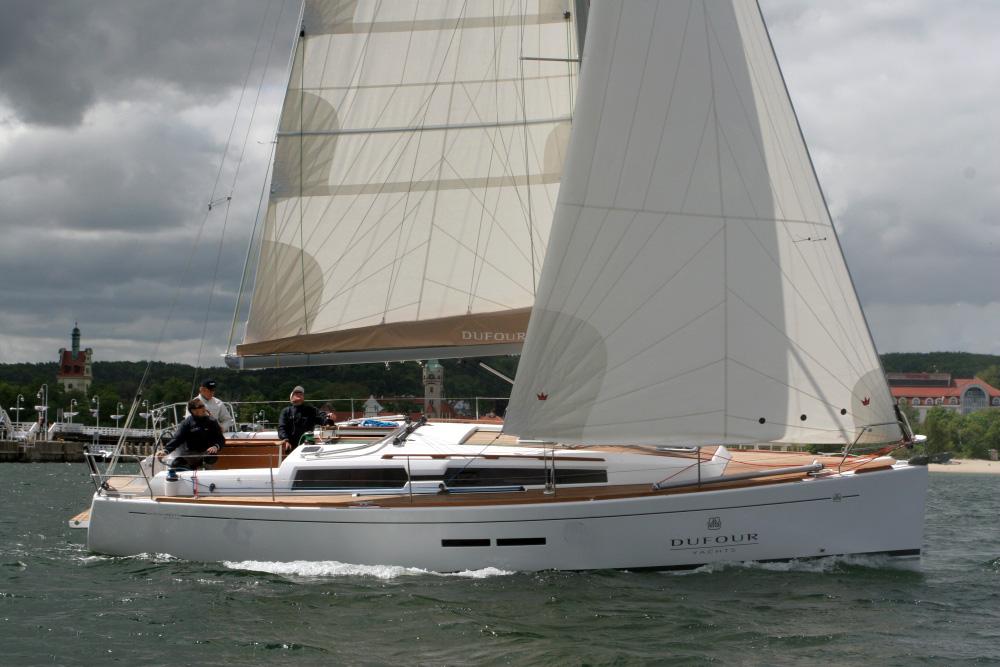 Dufour 375 Grand Large na wodzie