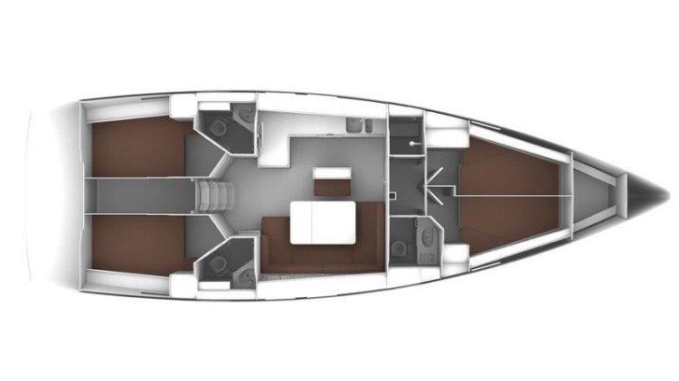Bavaria 46 layout